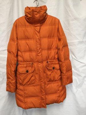 Daunenmantel in Orange