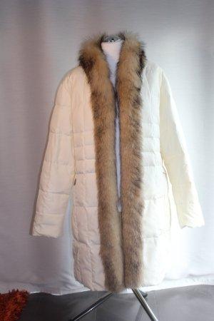 Jobis Down Coat natural white polyester
