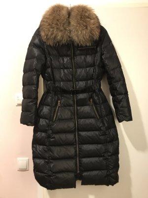 Kookai Abrigo de plumón negro