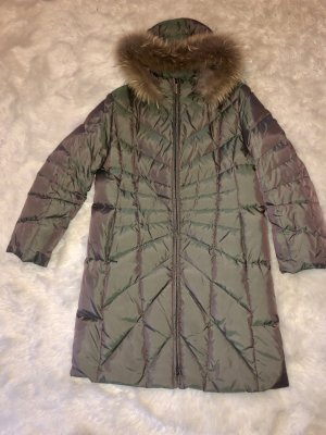 Down Coat green grey