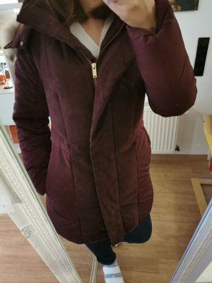 Down Coat bordeaux