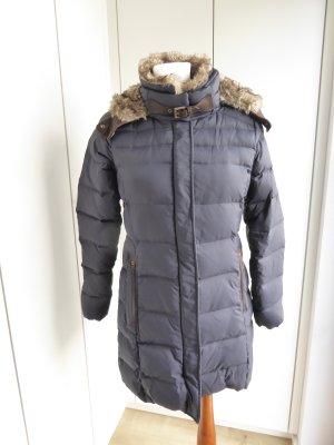Esprit Manteau en duvet bleu foncé polyester