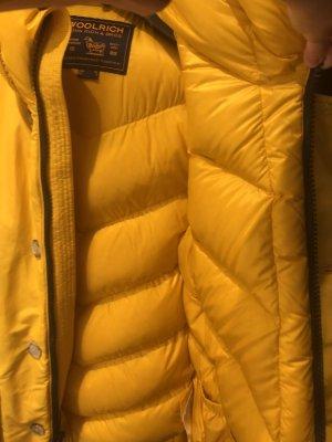 Woolrich Piumino lungo giallo