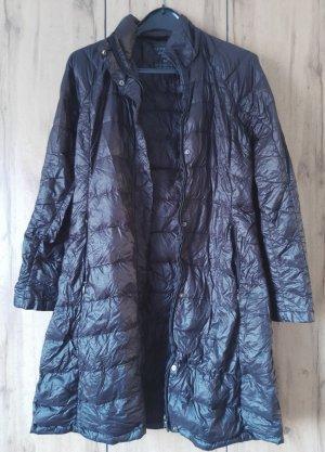Manteau en duvet noir tissu mixte