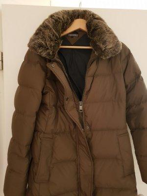 Tommy Hilfiger Abrigo de plumón marrón oscuro-ocre