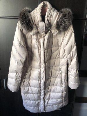Laurèl Płaszcz puchowy jasnoszary-jasnobeżowy