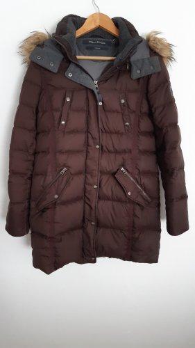 Marc O'Polo Manteau en duvet brun rouge polyester