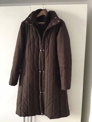 Mexx Płaszcz puchowy brązowy-ciemnobrązowy