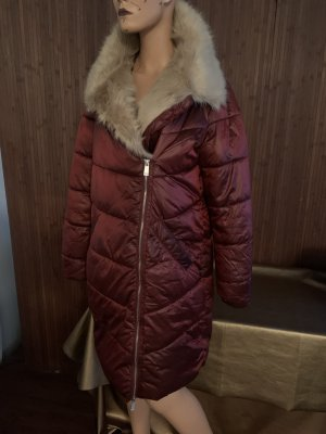 Reserved Manteau en duvet bordeau