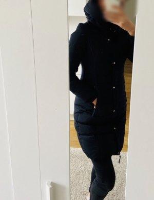 Zara Piumino lungo blu-blu scuro