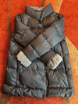 Armani Manteau en duvet bleu acier