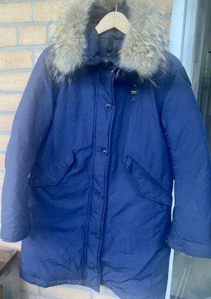 Blauer USA Płaszcz puchowy ciemnoniebieski