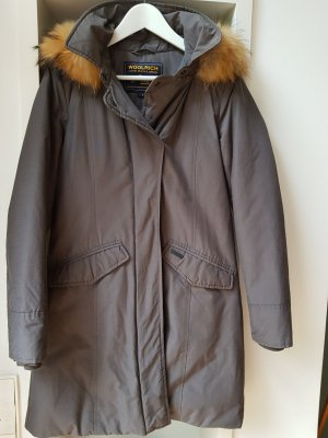 Woolrich Down Coat anthracite cotton