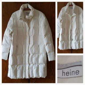 Heine Abrigo acolchado blanco puro