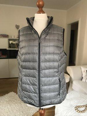 s.Oliver Gilet matelassé noir-gris clair polyester