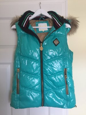 Nickelson Down Vest turquoise