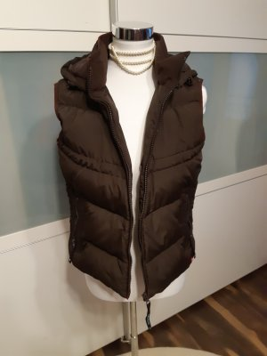 edc by Esprit Down Vest dark brown