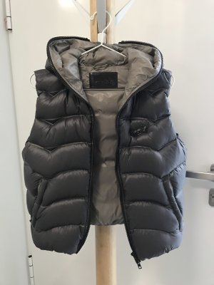 Gas Down Vest grey-beige