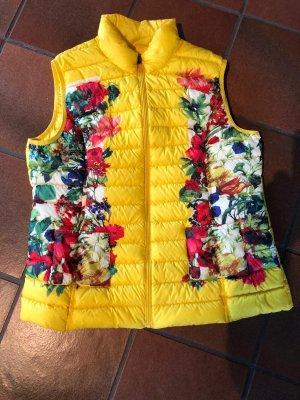 Daunenweste J.O.T.T. Mit Blumen in Frühlingsfarben