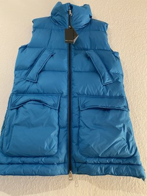 Marc O'Polo Down Vest blue-neon blue