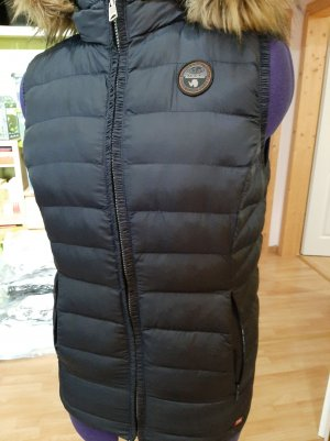 Napapijri Down Vest dark blue