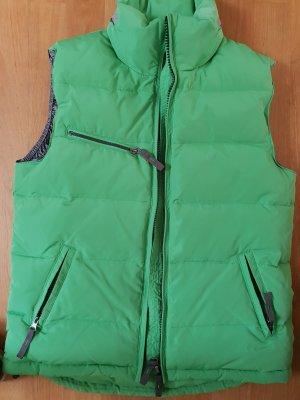 Witty Knitters Gilet en duvet vert gazon polyester