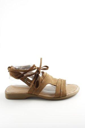 Dave Mayer Comfort Sandals brown casual look