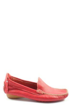 David Braun Moccasins red elegant