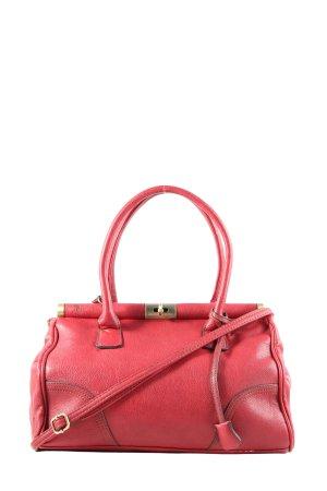 David Jones Handtasche rot Business-Look