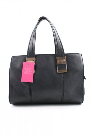 David Jones Henkeltasche schwarz Business-Look
