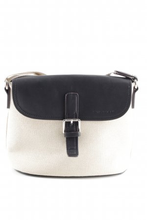 David Jones Crossbody bag white-black casual look
