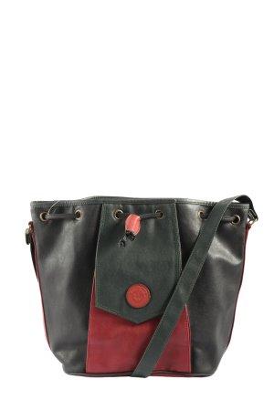 David Jones Bandolera negro-rojo look casual