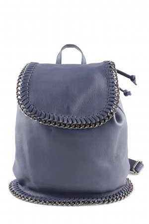 David Tyler Mochila escolar azul look casual
