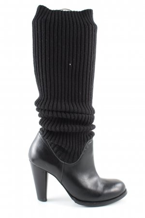 Davos Gomma Stretch Boots black casual look