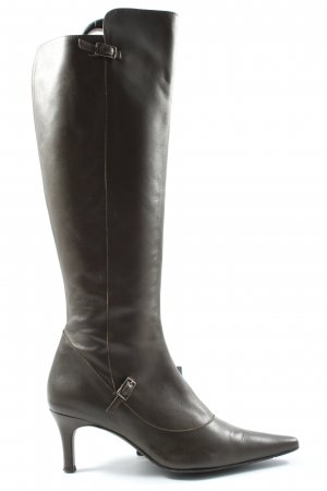 Davos Gomma Wide Calf Boots brown-silver-colored casual look