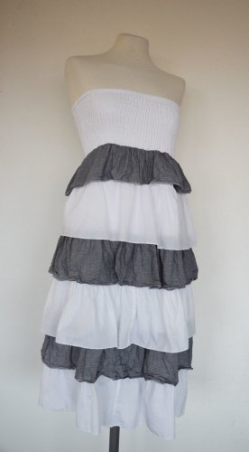 Dawanda - Stufen Kleid Maxi Rock aus Baumwolle