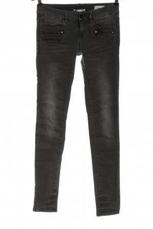 Dawn Tube Jeans light grey casual look