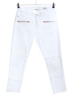 Dawn Straight-Leg Jeans weiß Casual-Look