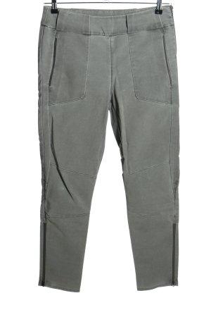 Dawn Pantalón elástico gris claro look casual