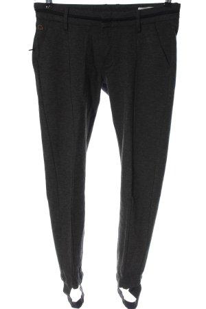 Dawn Pantalón deportivo gris claro moteado look casual