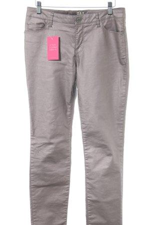 DAY Birger et Mikkelsen Five-Pocket-Hose silberfarben Business-Look