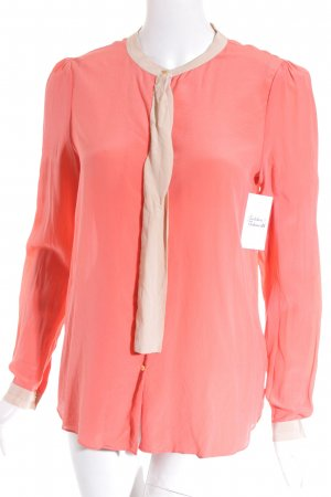 DAY Birger et Mikkelsen Long Sleeve Blouse beige-neon orange casual look