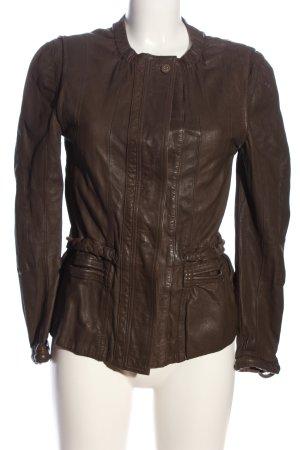 DAY Birger et Mikkelsen Leather Jacket brown casual look