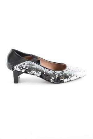 DAY Birger et Mikkelsen Tacones Mary Jane negro-color plata look casual