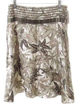 DAY Birger et Mikkelsen Midi Skirt graphic pattern wet-look