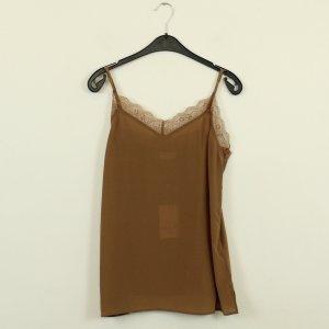 DAY Birger et Mikkelsen Silk Top bronze-colored silk