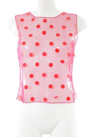 DAY Birger et Mikkelsen Strappy Top pink-red allover print extravagant style
