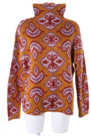 DAY Birger et Mikkelsen Wool Sweater abstract pattern casual look