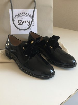 DAY Lace Shoes black leather