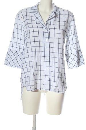 DAY LIKE Lumberjack Shirt white-blue check pattern business style